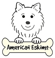 American Eskimo Dog Cartoon T-Shirts and Gifts