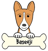 Basenji Cartoon T-Shirts and Gifts