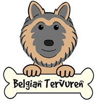Belgian Tervuren Cartoon T-Shirts and Gifts