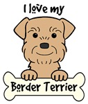 Wheaten Border Terrier Cartoon