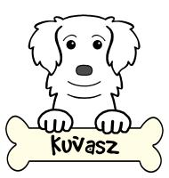Kuvasz Cartoon T-Shirts and Gifts