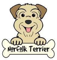 Norfolk Terrier Cartoon T-Shirts and Gifts
