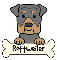 Rottweiler Cartoon T-Shirts and Gifts