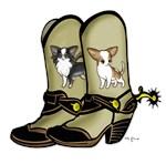 Chihuahua Cowboy Boots