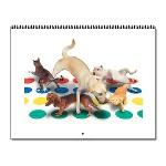 Animal Antics Pet Wall Calendar - 12 images