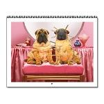 Animal Antics Dog Wall Calendar - 12 image