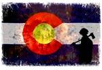 Firefighter Colorado Flag