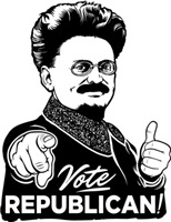 Trotsky: Vote Republican