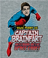 Rick Perry Captain Brain fart