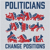 Politicians Change Positions