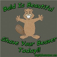 Bald Is Beautiful Shave Your Beaver Today!!