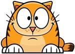 Cartoon Orange Cat