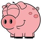 Cartoon Happy Pig