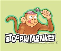 The Stoopid Monkey Brains offers many of the Stoopid Monkey designs displayed at the end of each episode of Cartoon Networks Robot Chicken series
