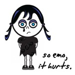 So Emo It Hurts Emo Kid/Girl