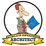 WORLDS GREATEST ARCHITECT CARTOON