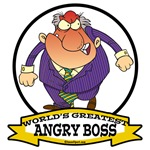 WORLDS GREATEST ANGRY BOSS CARTOON