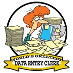 WORLDS GREATEST DATA ENTRY CLERK WOMEN