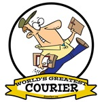 WORLDS GREATEST COURIER CARTOON