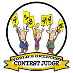 WORLDS GREATEST CONTEST JUDGE