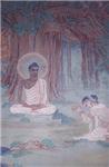 Buddha W. Halo Fresco