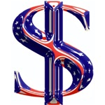 U.S. Dollar/Flag