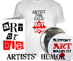 ARTISTS' HUMOUR