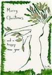 Hand-painted Environmental Christmas Wishes