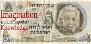 Einstein on Israeli money