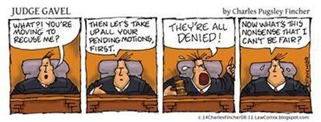 Judge Gavel Recusal