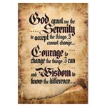 Serenity Prayer Scroll