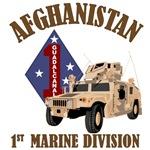 1st Marine Afghanistan - Humvee
