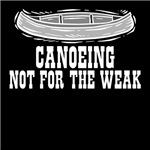 Canoeing-Not for the weak