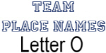 Team Place: Letter O