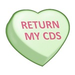 RETURN MY CDS - Candy Heart