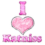 Vintage I Heart Katniss 2