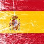 Vintage Spain Flag