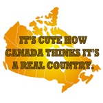 It's Cute How Canada Thinks It's A Real Country