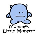 Mommy's Little Blue Monster