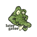Distressed Vintage Later Gator