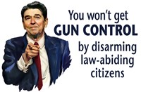 Reagan quote: Gun Control