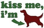 Kiss Me I'm Irish (Setter)
