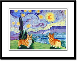 Pembroke Welsh Corgi Art Prints
