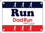 Race Bib Run Dad