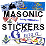 Masonic Bumper Stickers and More