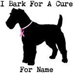 Fox Terrier Personalizable I Bark For A Cure