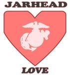USMC Jarhead Love T-Shirts & Gifts