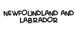Newfoundland And Labrador Country Designs