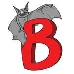 B Is For Bat T-shirts and Gifts