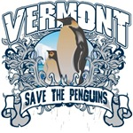 Save the Penguin Vermont T-Shirts and Gifts